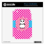 Fancy baby panda polka dots skin for the iPhone 3GS