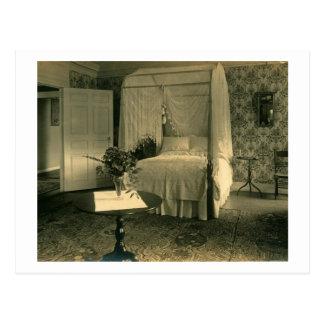 Fancy Bedroom Vintage de señora Postales