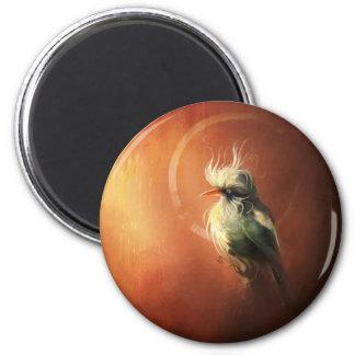 Fancy bird Magnet