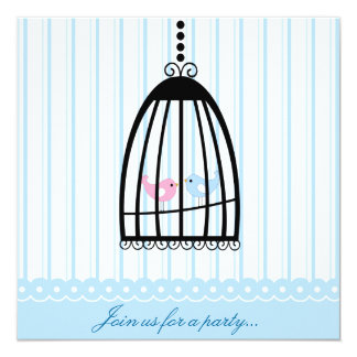 Fancy Birdcage Party Invitation