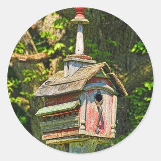 Fancy Birdhouse Sticker