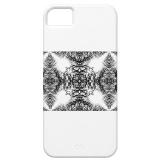 Fancy Black and White Pattern iPhone SE/5/5s Case