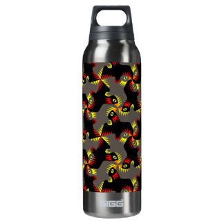Fancy Black Flying Birds SIGG Thermo 0.5L Insulated Bottle