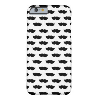 Fancy Black Moustaches Barely There iPhone 6 Case