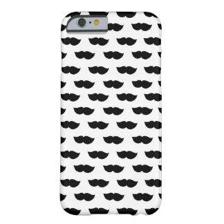 Fancy Black Moustaches iPhone 6 Case