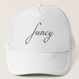Fancy - Black Trucker Hat