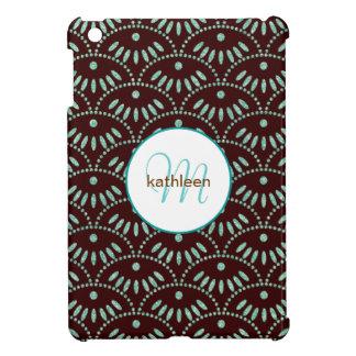 Fancy Bling Seigaiha Pattern iPad Mini Cover