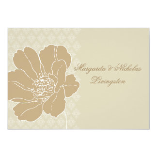 Fancy Blossom Flat Personalized Thank You Notecard