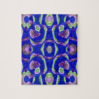 fancy blue abstract jigsaw puzzle