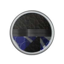 Fancy Blue Black Bluetooth Speaker