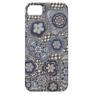 Fancy Blue Denim Phone Case iPhone 5 Cases