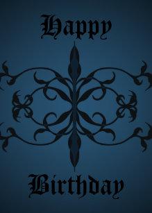 gothic birthday Goth Birthday Cards | Zazzle gothic birthday