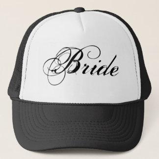 Fancy Bride On White Trucker Hat