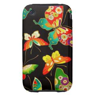 Fancy Butterflies iPhone 3 Tough Case