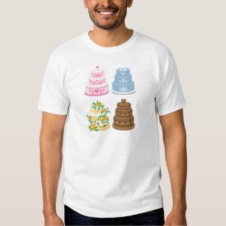 Fancy cakes tee shirt