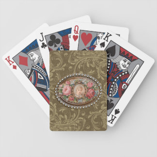 Fancy Cameo Style Playing Cards