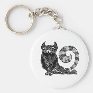 Fancy Cat Keychain
