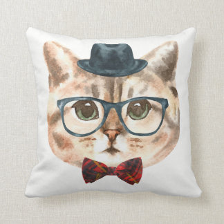 Fancy Cat Pillow