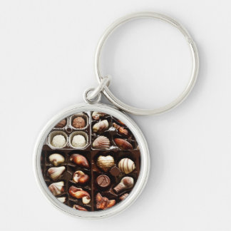 Fancy Chocolate Truffles Keychain