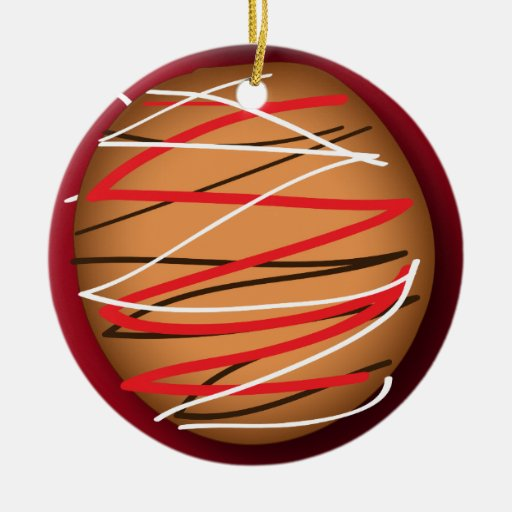 Fancy Christmas Cookie Ornament