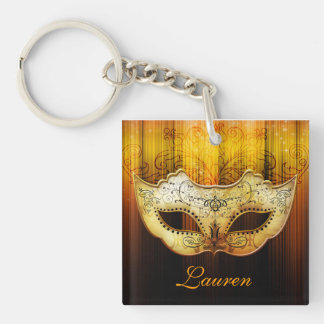 Fancy Classic Masquerade Part Favor Key chain Acrylic Keychains