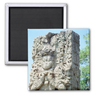 Fancy Color Photo Printed Mayan Ruins Designed Magnet