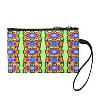 fancy colorful design coin wallets