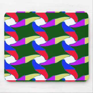 Fancy Colorful Paper Craft Ropes Print on shirts Mouse Pad