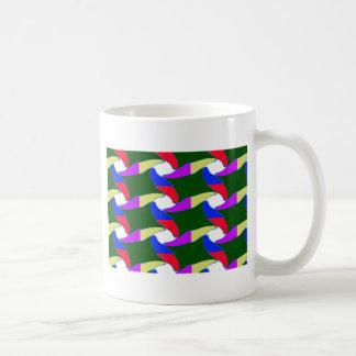 Fancy Colorful Paper Craft Ropes Print on shirts Basic White Mug