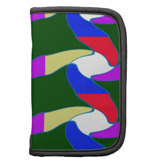 Fancy Colorful Paper Craft Ropes Print on shirts Organizer