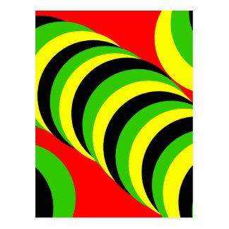 fancy colors postcard