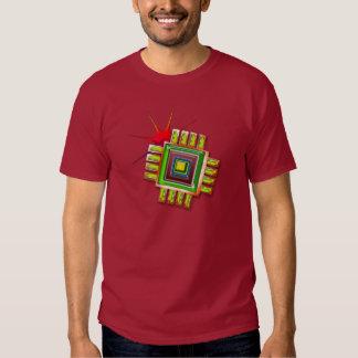 Fancy Computer Chip T-shirt
