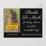 "[ Thumbnail: Fancy, Customizable ""Thanks So Much"" Postcard ]"
