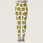 "Fancy Cute Hedgehog Watercolor Designed Awesome Leggings<br><div class=""desc"">Awesome designed hedgehog printed leggings for every occasion. Printed in vibrant colors and customizable to your perfection. Great for gifting,  jogging,  running and walking with the girls. Cute a totally precious... </div>"