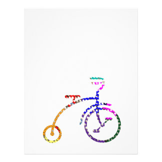 FANCY CYCLE - Dot Painted Personalized Letterhead