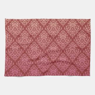 Fancy Damask Design Hand Towel