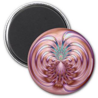 Fancy Dance 2 Inch Round Magnet