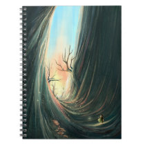 fancy dark landscape Notebook