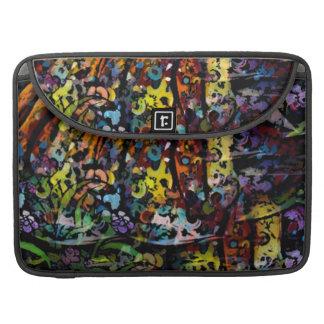 Fancy Decorative Art multi colored macbook sleeve MacBook Pro Sleeves