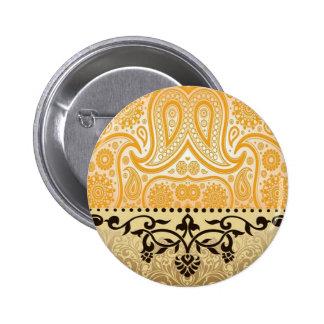 Fancy Design 2 Inch Round Button
