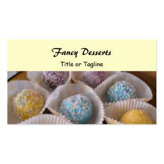 Fancy Desserts Business Card