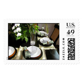 Fancy Dinner Party Postage