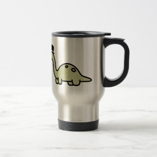 Fancy Dinosaur 15 Oz Stainless Steel Travel Mug