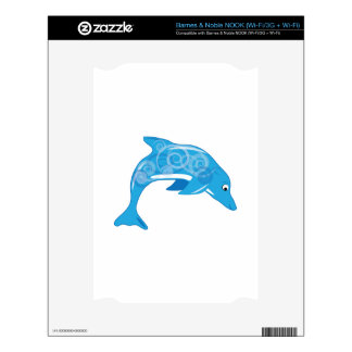 Fancy Dolphin Skin For The NOOK