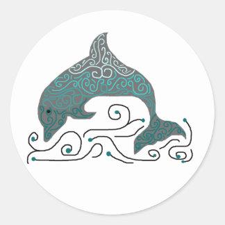 Fancy Dolphin stickers