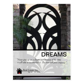 Fancy Door Real Estate postcard