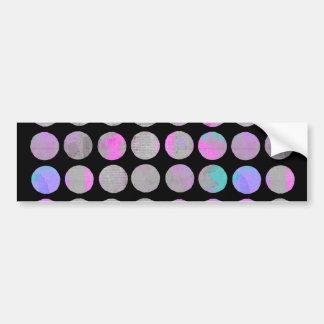 Fancy Dots Bumper Sticker