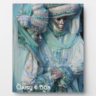 Fancy Dress Couple Costumes Plaque