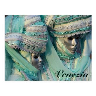 Fancy Dress Couple Costumes Postcard