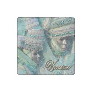 Fancy Dress Couple Costumes Stone Magnet